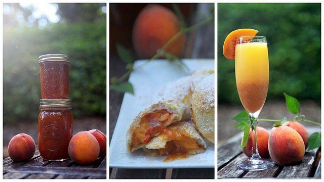 Pickled Peach Recipe plus some more peach recipes