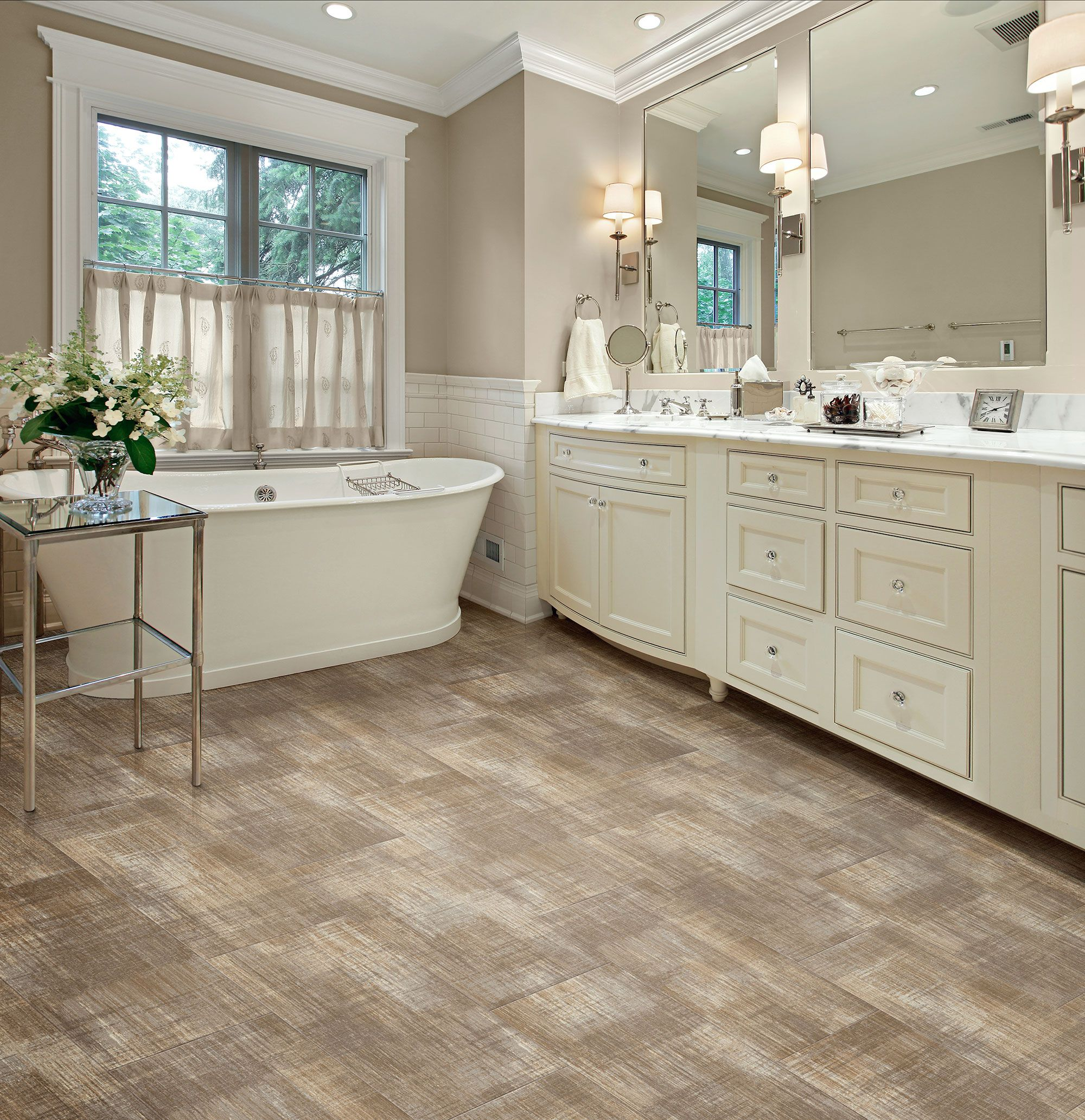 Architexture linenfold congoleum duraceramic luxury vinyl choosing the right flooring hinges on many elements lifestyle floor plan maintenance budget and overall appeal doublecrazyfo Images