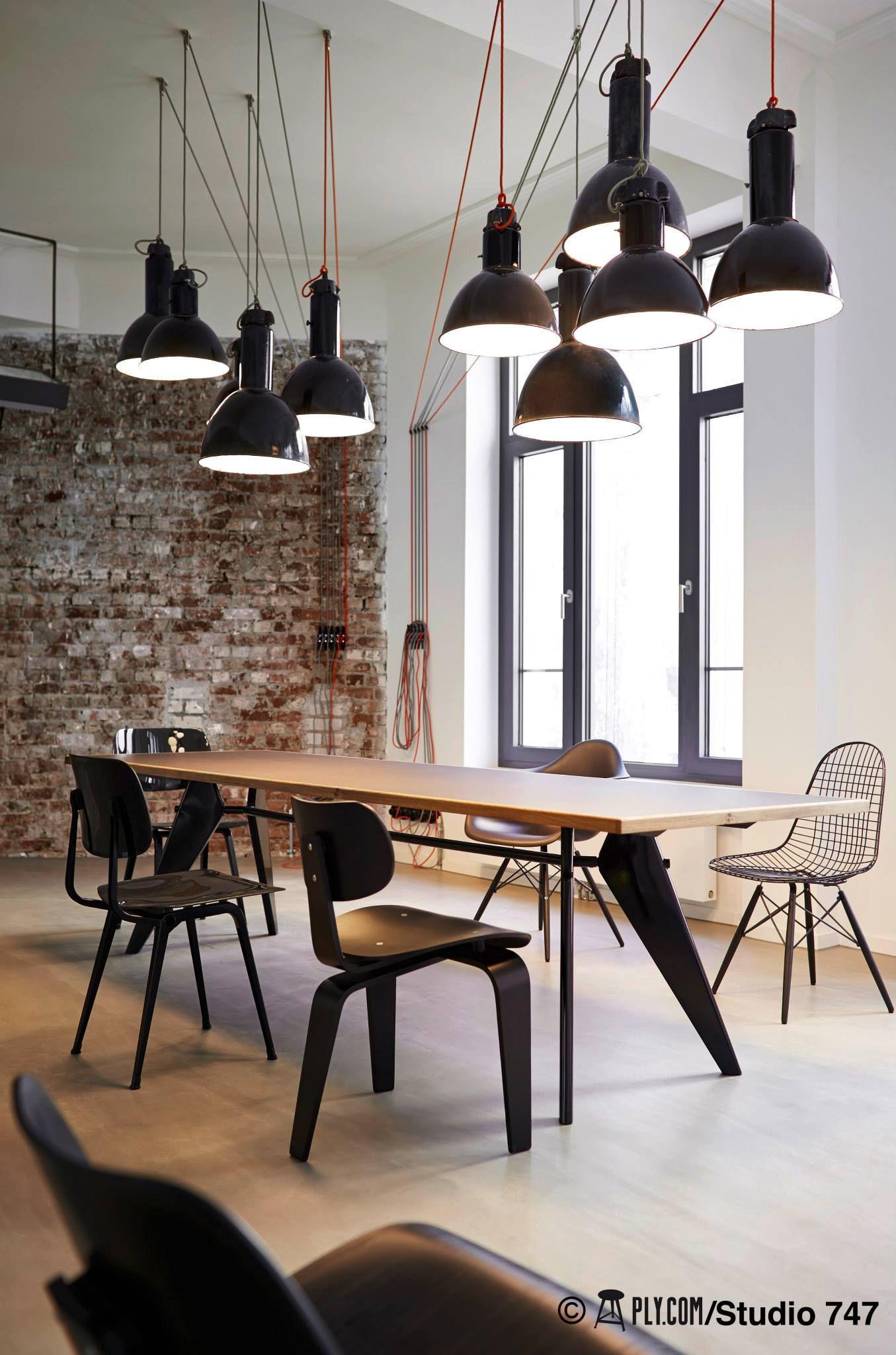 Pin di emanuele su idee per la casa modern office decor for Ufficio design industriale