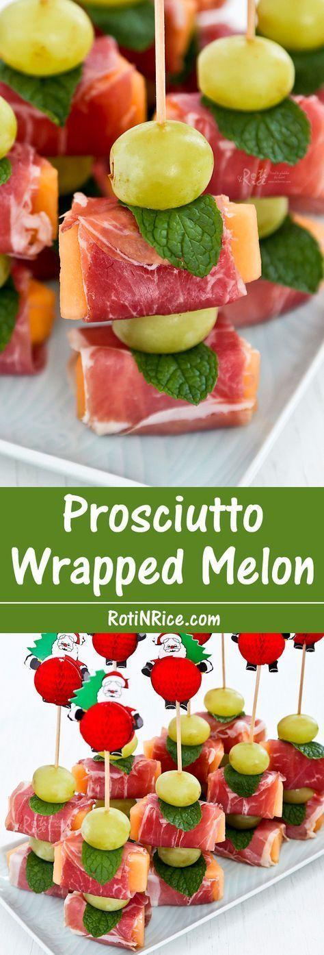 Photo of Prosciutto Wrapped Melon – eine leichte, herzhafte, süße …,  #herzhafte #lei…