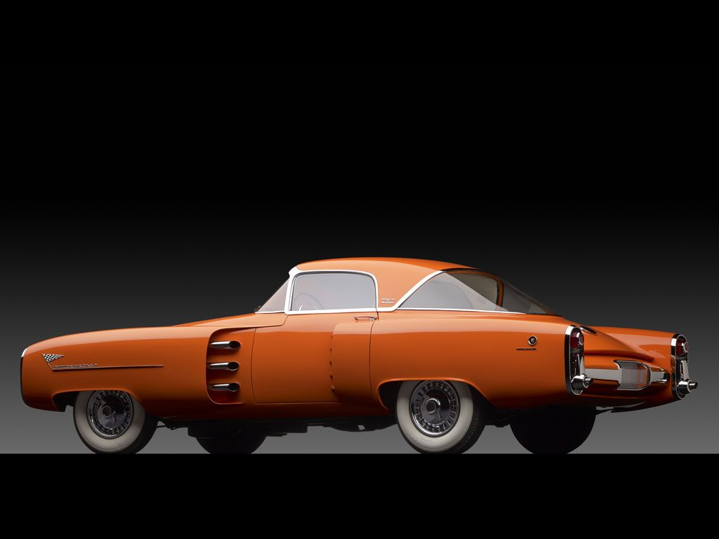 Orange Color Project 1955 Lincoln Indianapolis Exclusive Study By