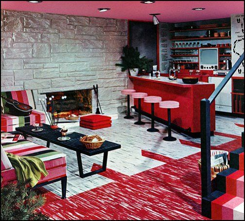 50s Style Decorating Retro 50s Bedroom Ideas 50s Theme Decor 1950s Retro Decorating Style 50s Diner 50s Retro Pink Kitchens Asian Home Decor Retro Home