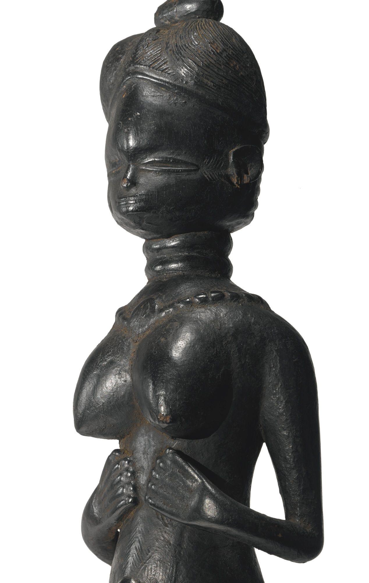 Mende Female Figure, Sierra Leone | Lot | Sotheby's