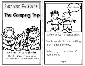 Summer Readers: The Camping Trip for Emergent Readers