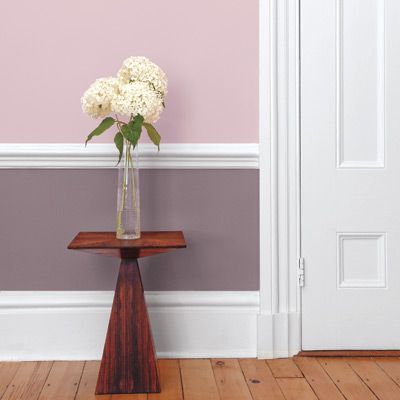 2 Tone Color Schemes four paint schemes for two-tone rooms | purple rooms, bedrooms and