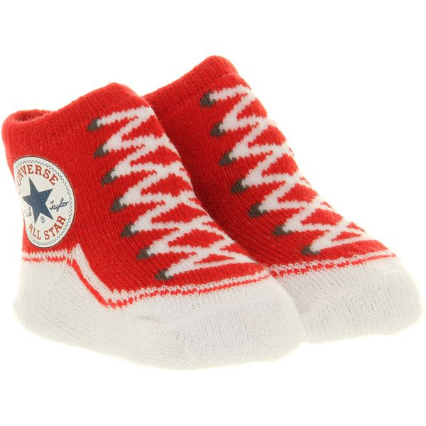 Converse Crib Socks $14 liked on Polyvore featuring