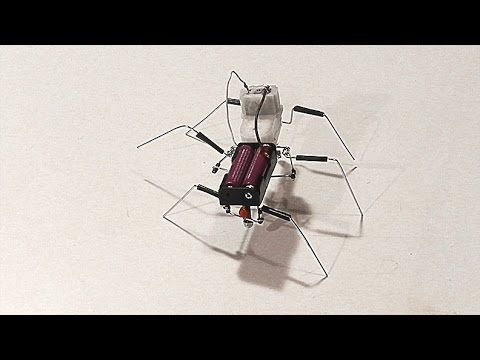 how to make a simple walking insect robot 81011 january 2015 this is another walking robot tutorial video