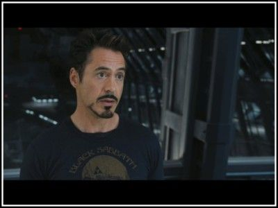 """""""That man over there is playing Galaga. Thought we wouldn't notice, but wedid."""" - Tony Stark"""