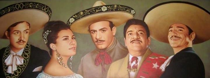 Jorge Negrete Lola Beltran Pedro Infante Jose Alfredo Jimenez Y Javier Solis Pedro Infante Jorge Negrete Cine De Oro Mexicano