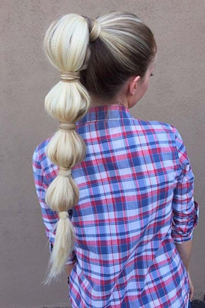 100 Different Ponytail Hairstyles To Fit All Moods And Occasions | Ponytail styles, Hair styles ...