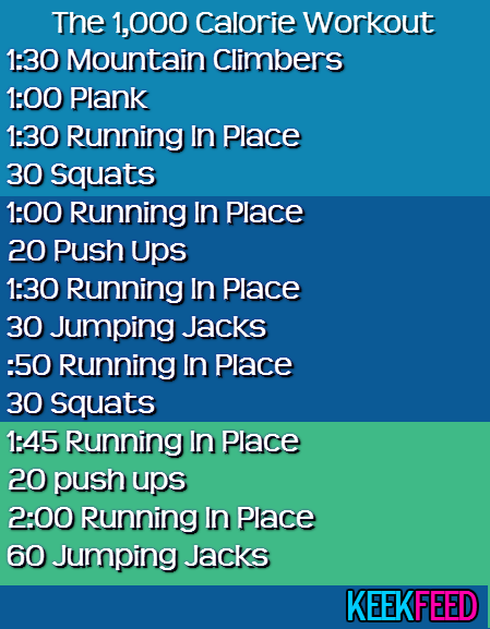f65bee1d4f18c Try this easy workout that ll burn 1000 calories each time and let us know  how it works for you!