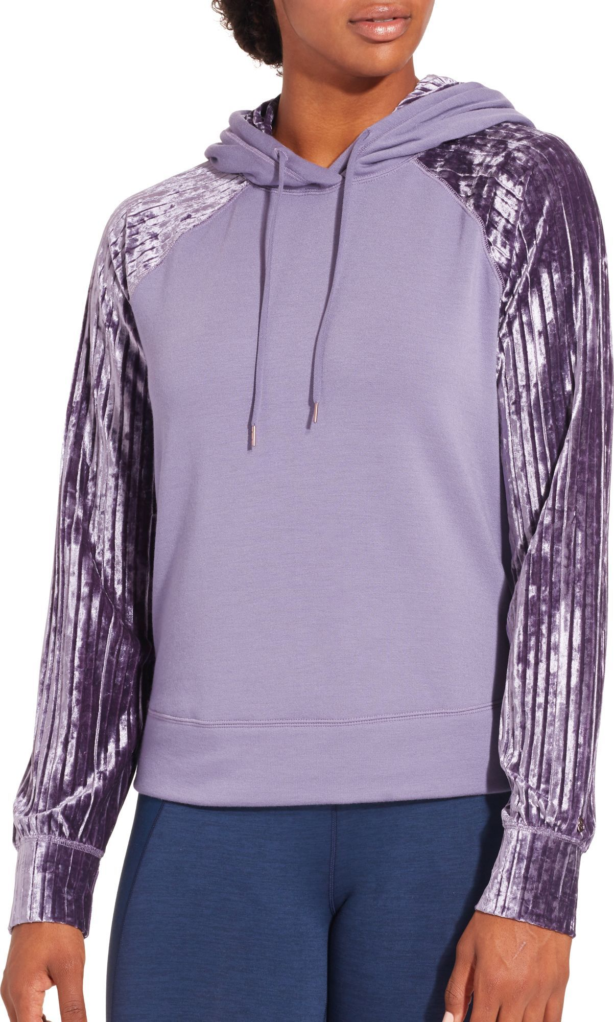 Calia by Carrie Underwood Women's Effortless Velvet Hoodie