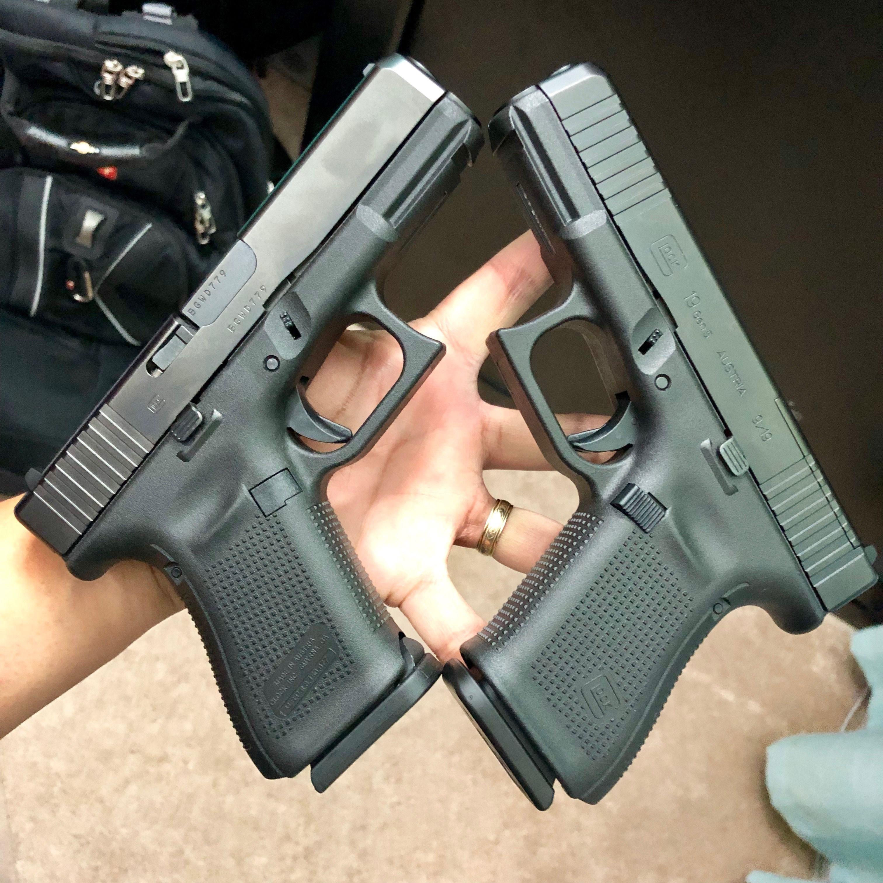 Glock 19 Gen 5 MOS and 1st release | Kuyajevs | Guns, Hand guns
