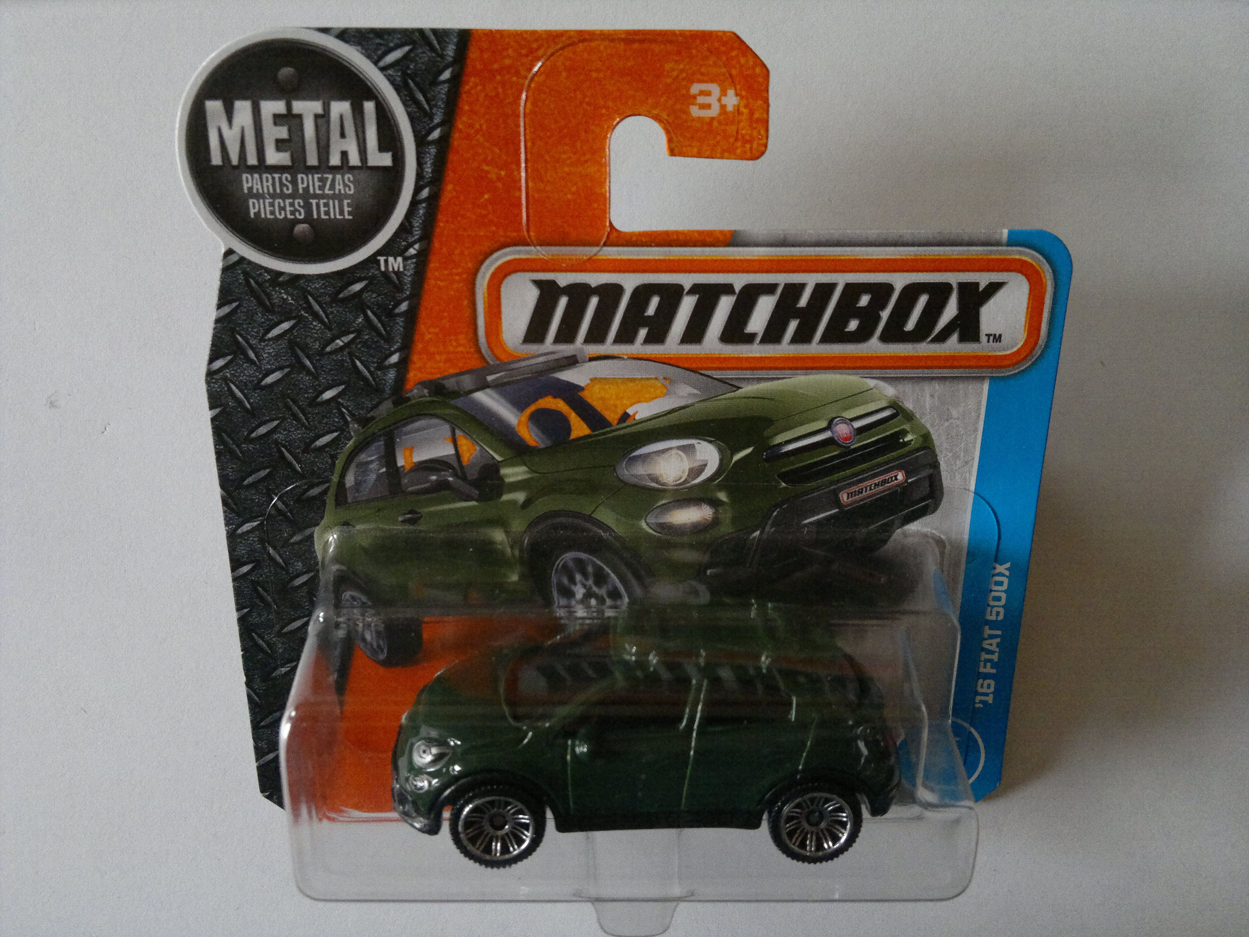 2017 - FIAT 500X ´2016 (Matchbox/MBX)   Matchbox/MBX/Mattel 1:64 ...