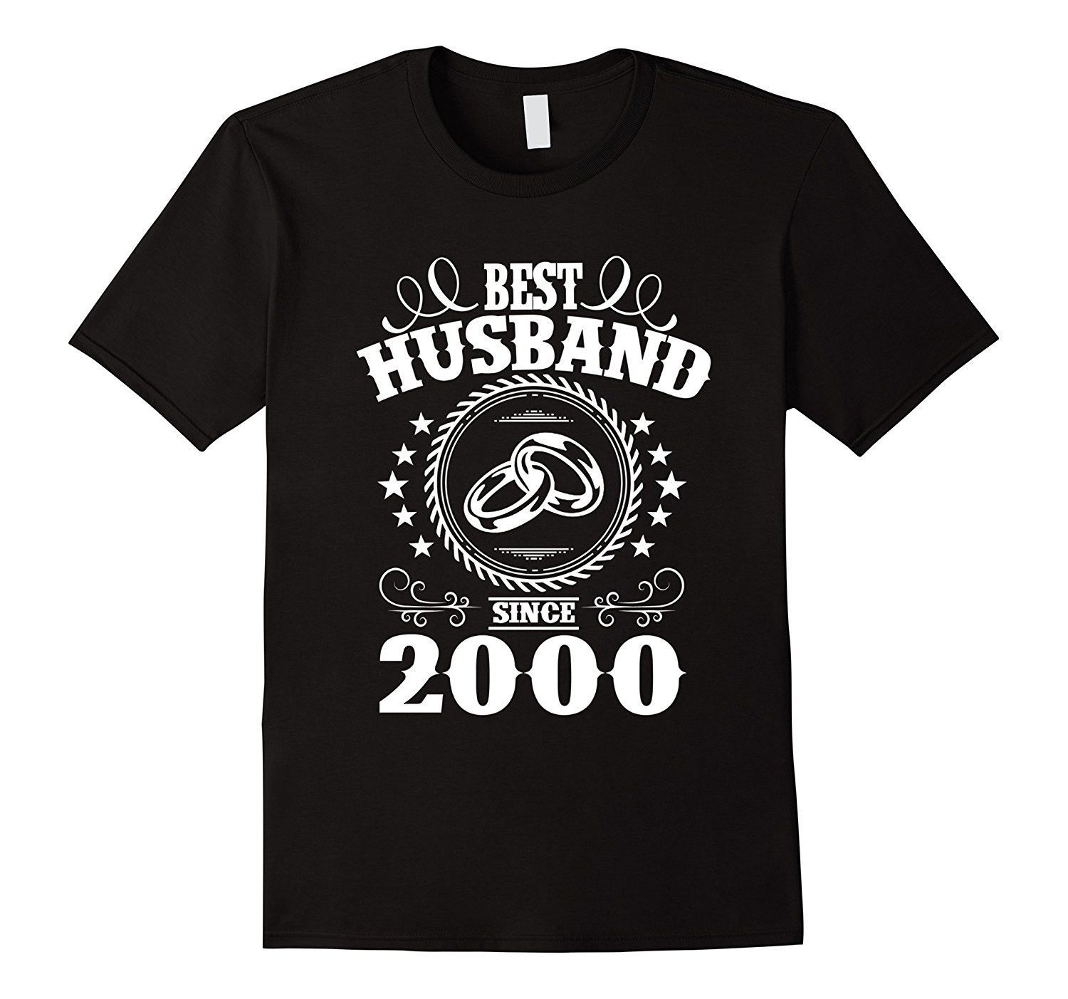 17th Wedding Anniversary TShirts For Husband From Wife