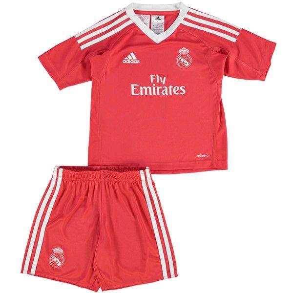 Segunda Replicas Camiseta Niños Portero Real Madrid 2017 2018 ... b028a0ec5bff3