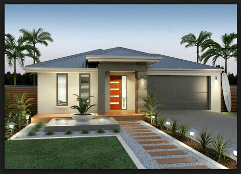 Facades | Front house landscaping, Modern landscaping ...