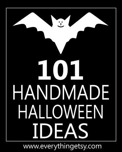 101 Handmade Halloween Craft Ideas. Great for a Halloween party!!