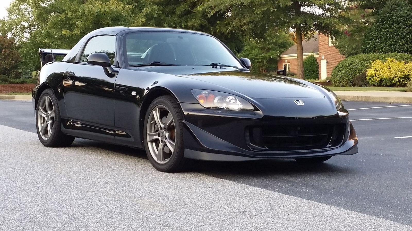 Black honda s2000 cr