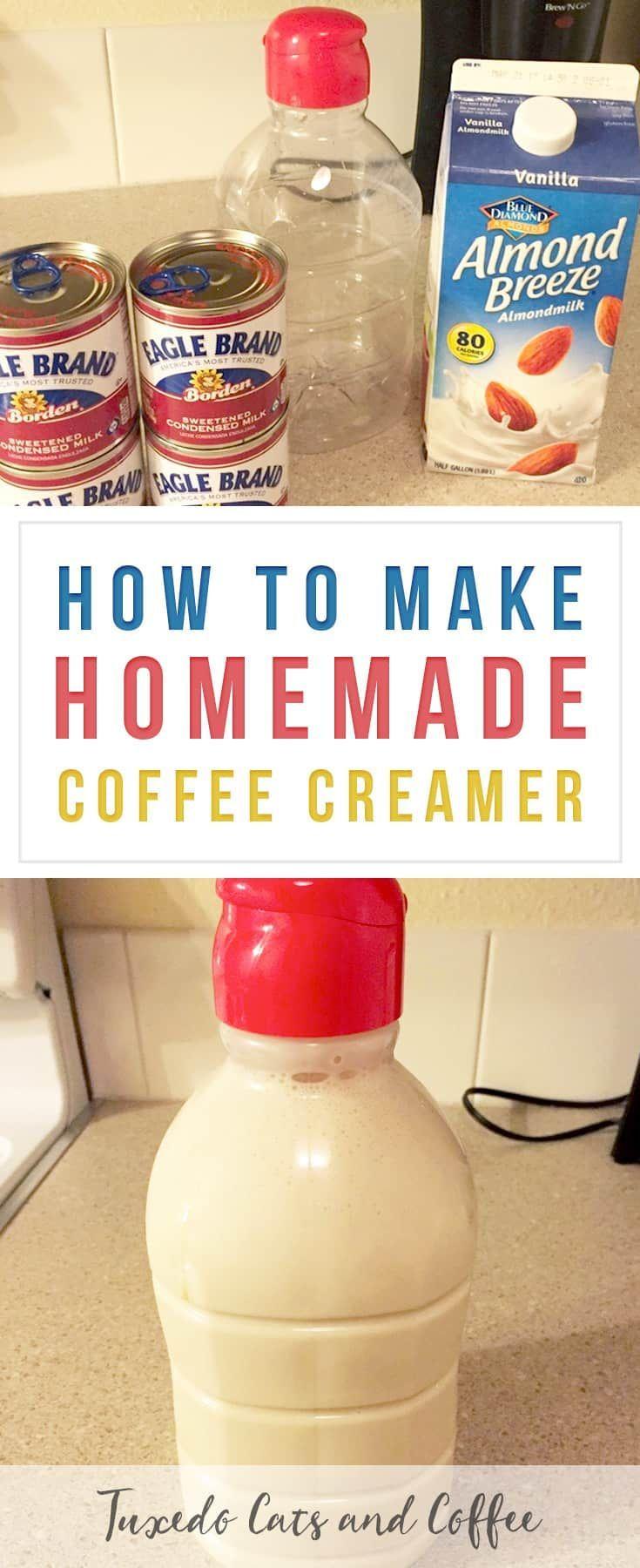 How to Make Homemade Coffee Creamer - Coffee -