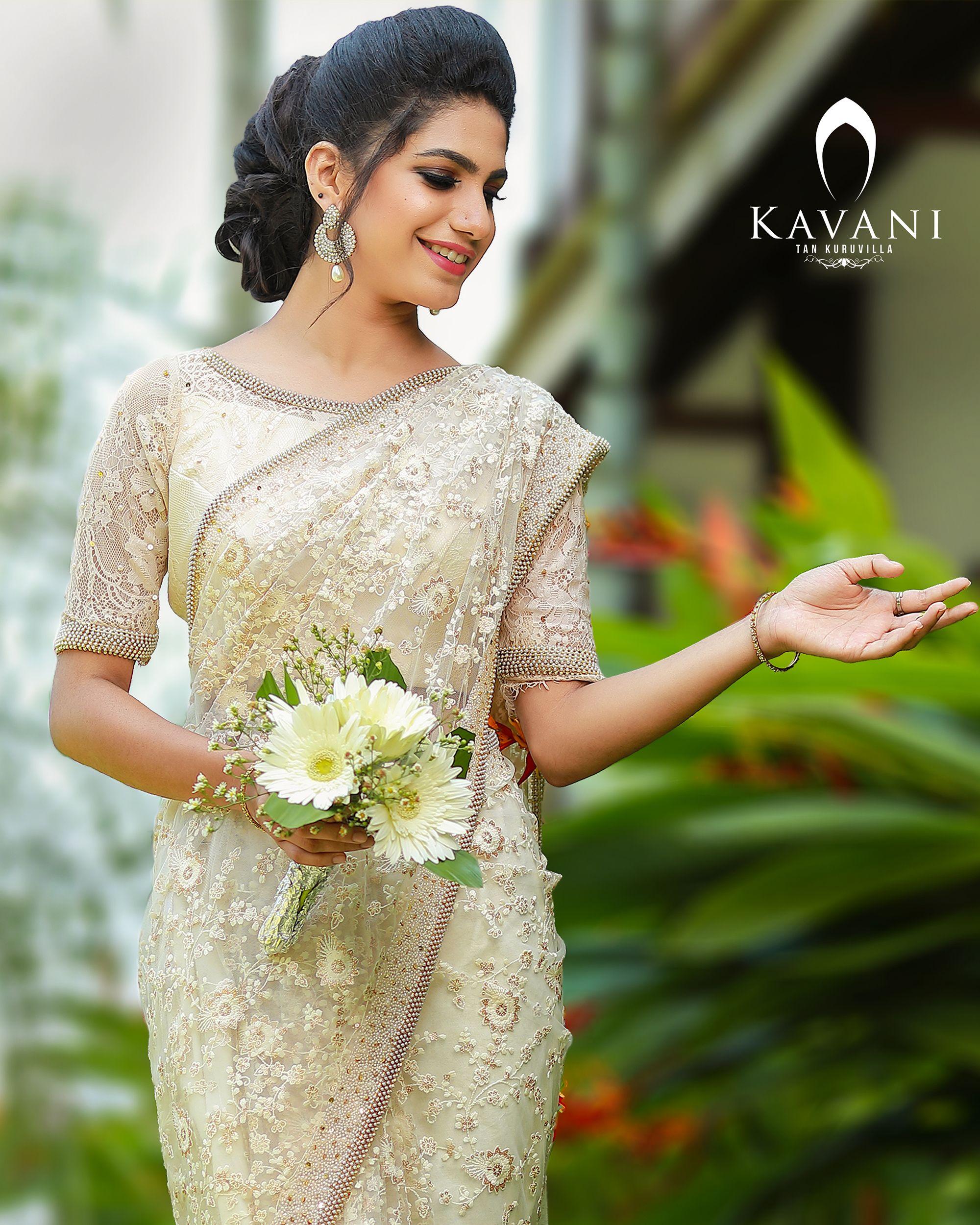 Kerala Wedding Bridal Images: Pin By Kavani On Christian Wedding Saree In 2019