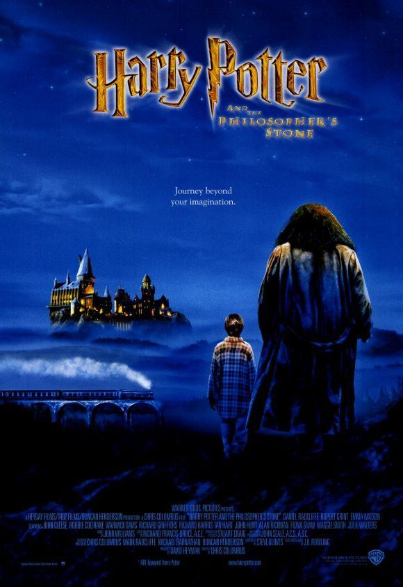 Harry Potter And The Sorcerer S Stone 11x17 Movie Poster 2001 Harry Potter Movie Posters Harry Potter Films Harry Potter Poster