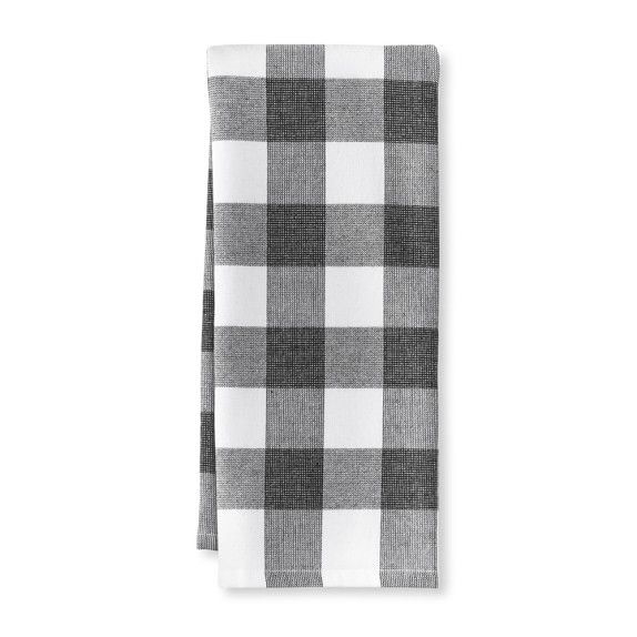 Fa16 Plaid Kitchen Towels S 2drizzle Kitchen Towels White Tea Towels Kitchen Decor