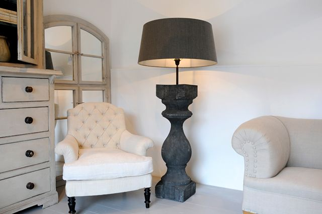 Anton k bespoke xxl balustrade floor lamp plus french antique anton k bespoke xxl balustrade floor lamp plus french antique furniture mozeypictures Images