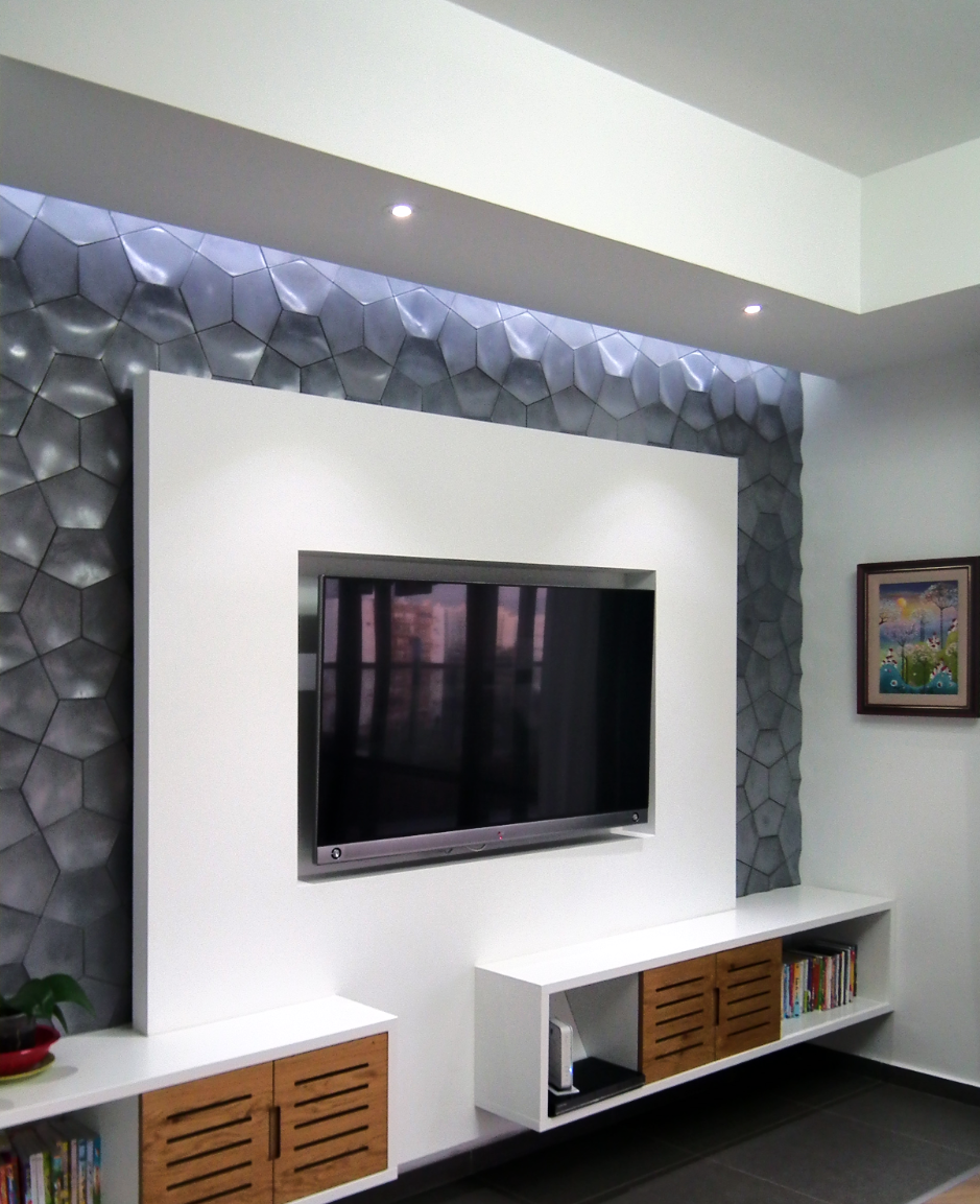בית בעיצוב מודרני לא חייב להיות קר Bedroom Tv Wall Modern Tv