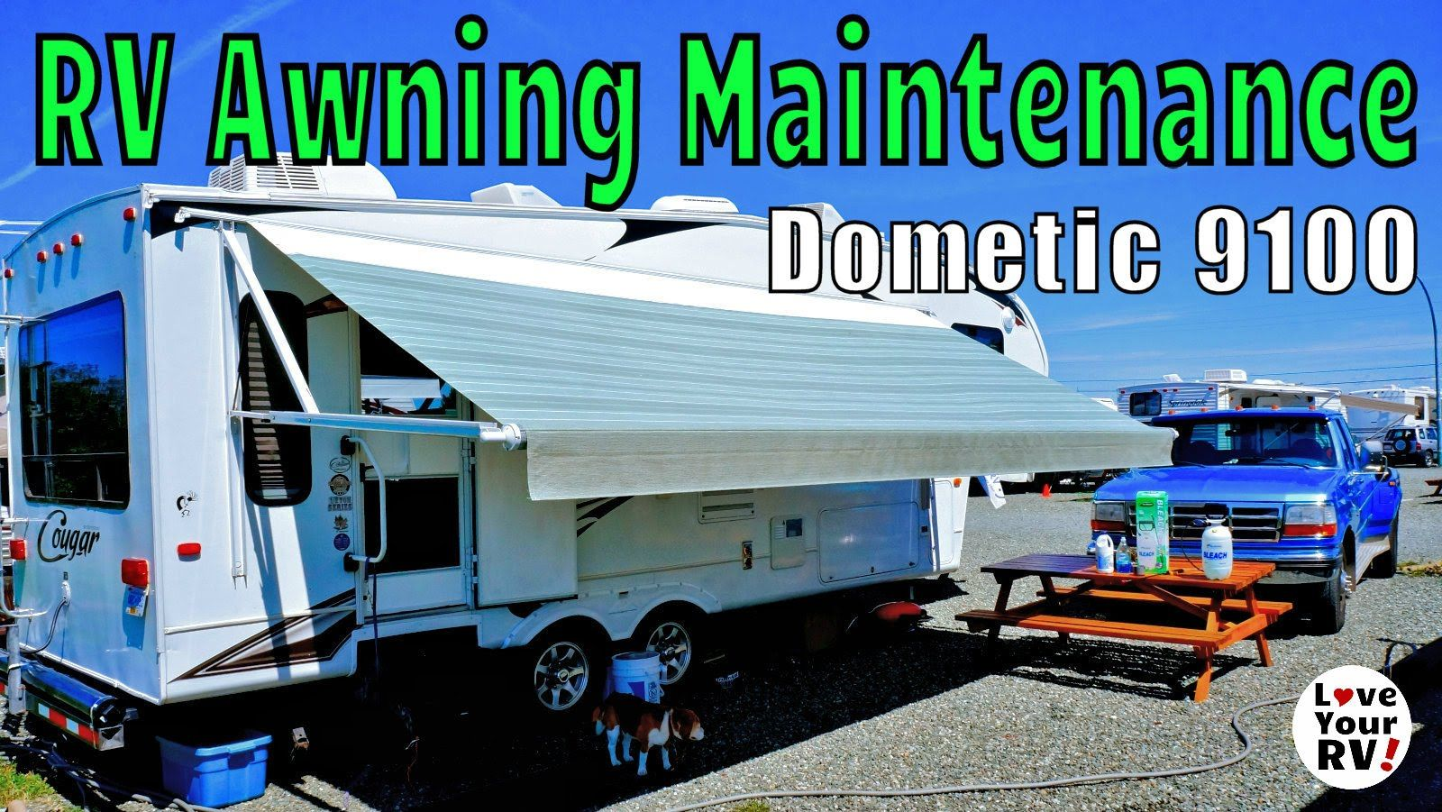Rv Power Awning Super Easy Maintenance Howto Rv Camper Maintenance Awning