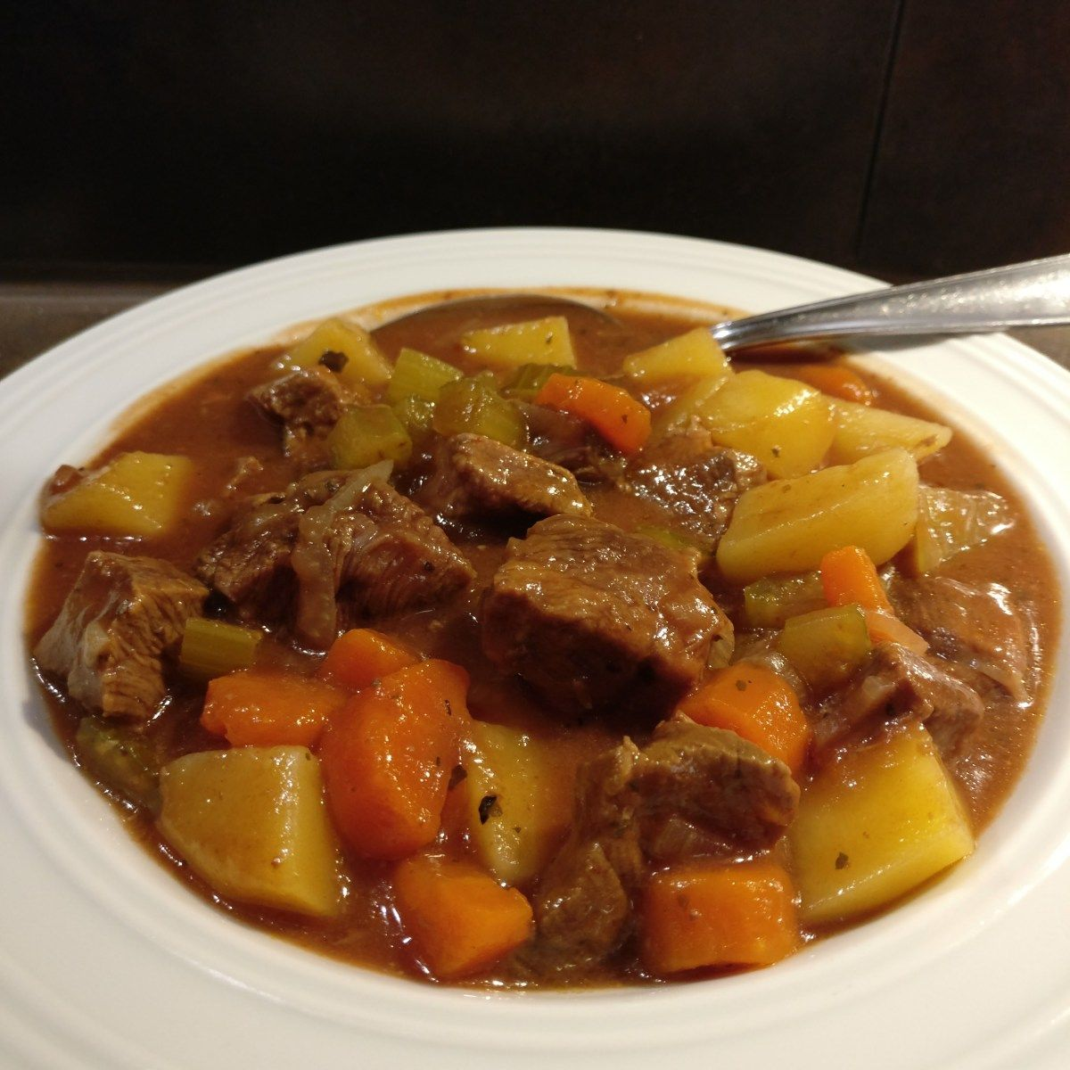 Photo of Slow Cooker – Beef and Potato Pot