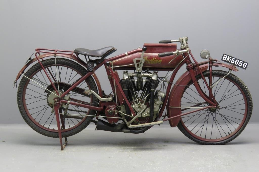 Indian 1915 1000cc 2 Cyl Ioe 2611 Yesterdays Antique Motorcycles Classic Motorcycles Classic Bikes