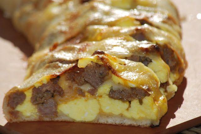 My story in recipes: Breakfast Stromboli