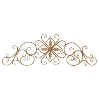 Sepia Scroll Metal Wall Art Kirkland S Use As Headboards Mounted On Behind Beds