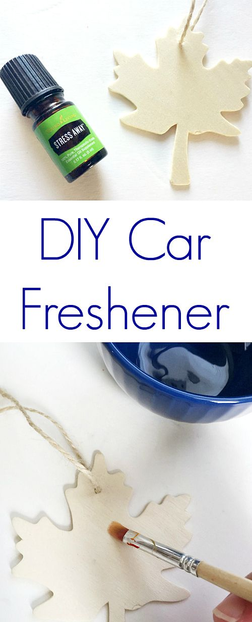 Store Bought Car Fresheners Can Be Really Strong And Overwhelming. Instead  Try A DIY Car Freshener Using A Wood Ornament And Essential Oils.