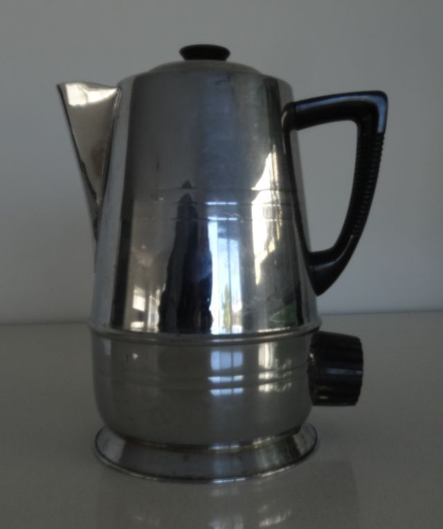 Rare Vintage Staychrome J4 Electric Kettle Chrome On Copper
