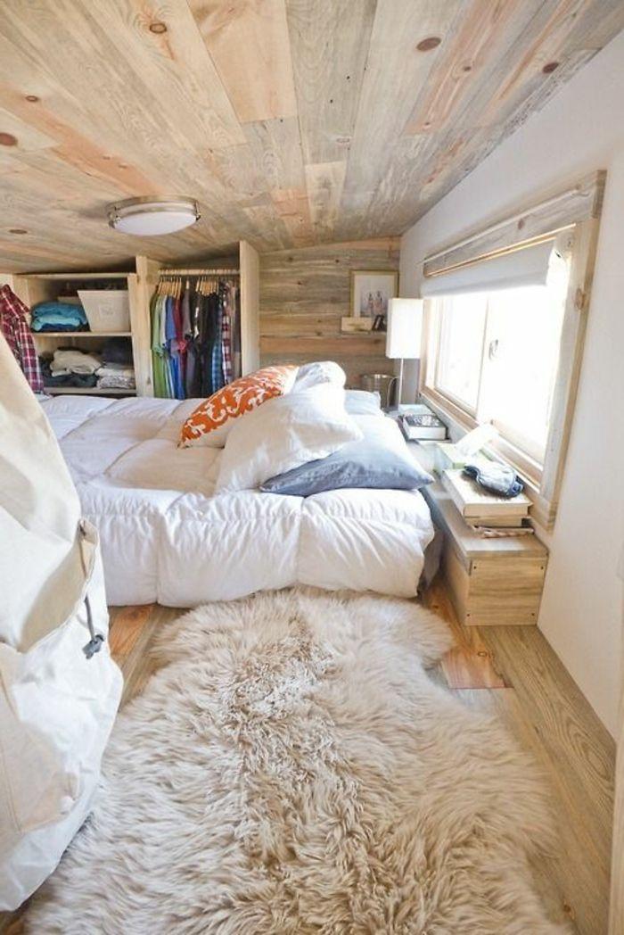 Quel type du0027intérieur pour votre chalet en bois habitable? Bedrooms - mur en bois interieur