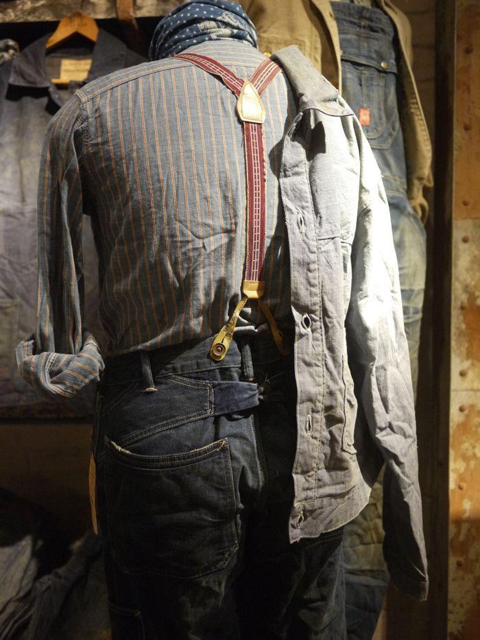 Workwear Braces Manner Mode Manner Kleidung Manner Outfit