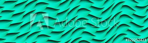 Bright green wavy pattern.Curved leaves of plants background , #AFF, #wavy, #pattern, #Bright, #green, #plants #Ad