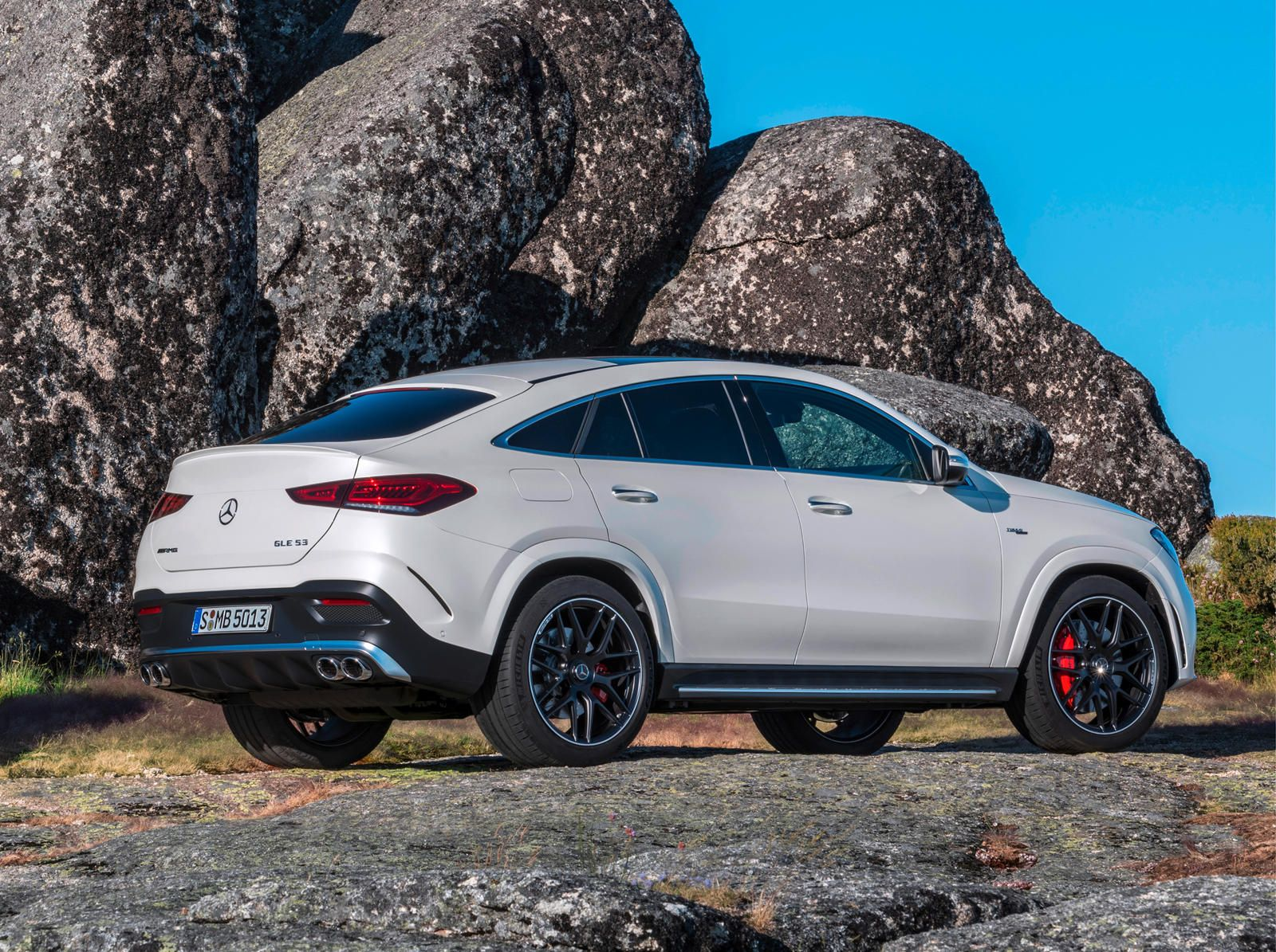 2021 mercedesamg gle 53 coupe arrives with 429 hybrid