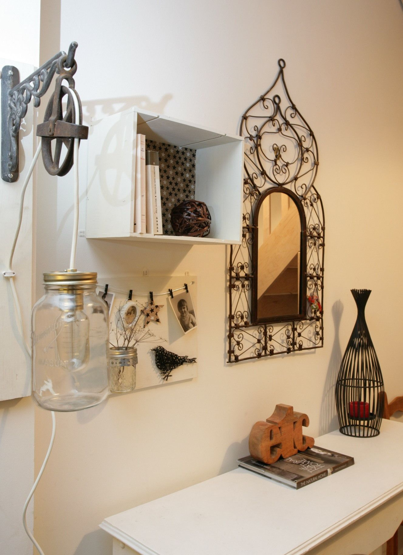 Diy Triptyque Rangement Luminaire Deco Murale Deco Murale Deco Deco Rangement