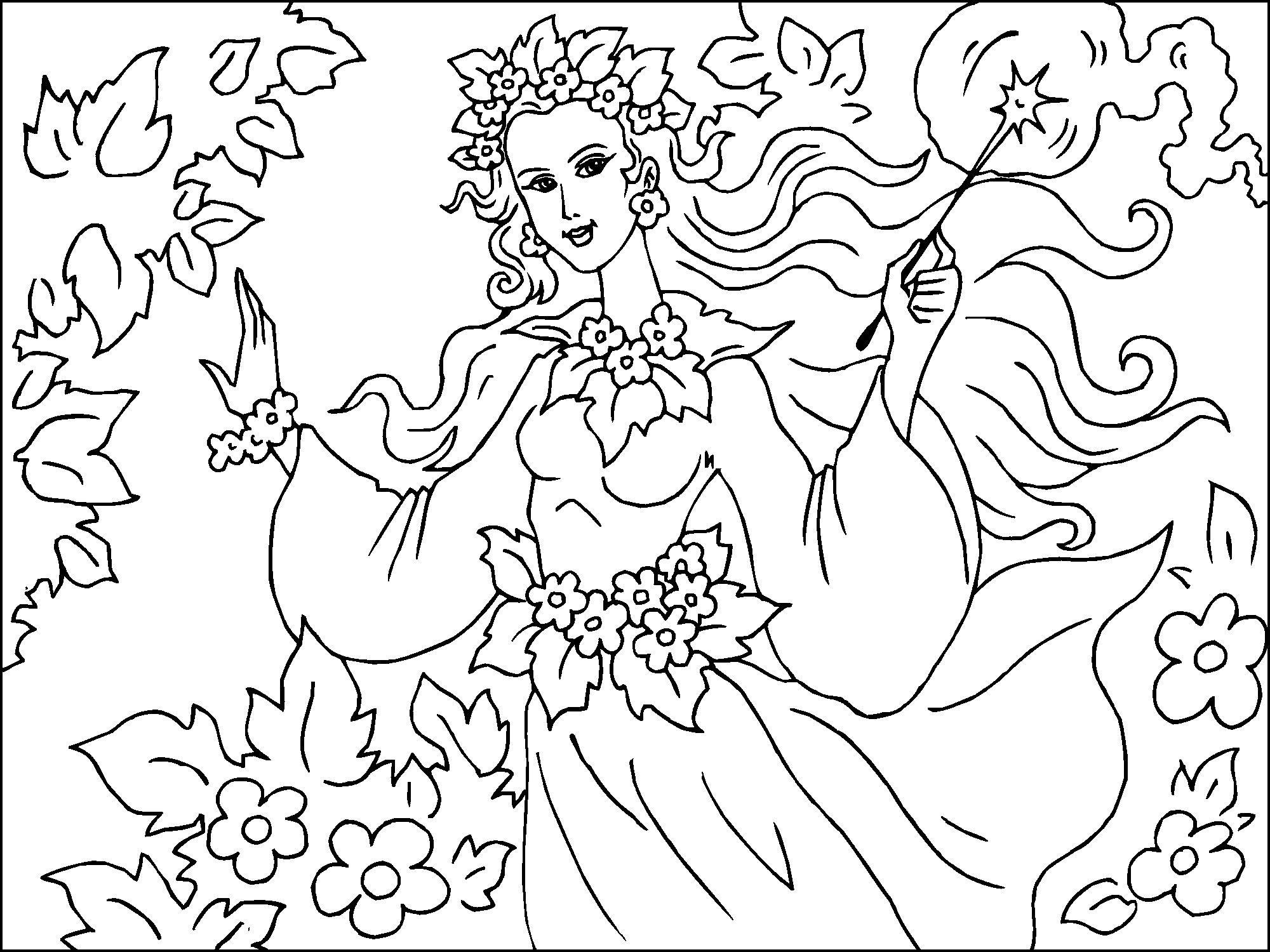 Nuevo dibujo de hadas del bosque | Fondos de pantalla de Hadas del ...