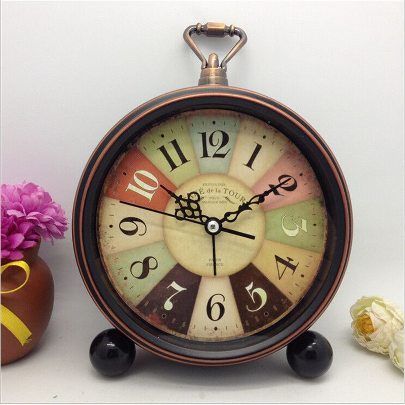 Free Shipping Buy Best New Antique Round Novelty True Alarm Clock Unique Machine Vintage Workable Amliya Clock Online With Lowest Price 32777405991