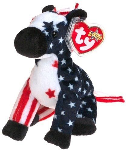 8483f2015c3 Ty Beanie Babies - Lefty 2000 - Retired Donkeys to the left