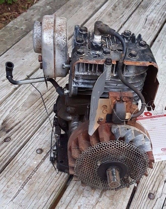 Details about Briggs & Stratton 5HP Engine Horizontal Long