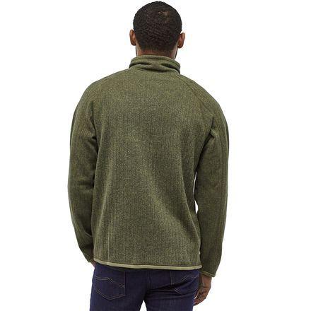 Photo of Better Sweater Rib Knit 1/4-Zip Fleece Jacket – Men's