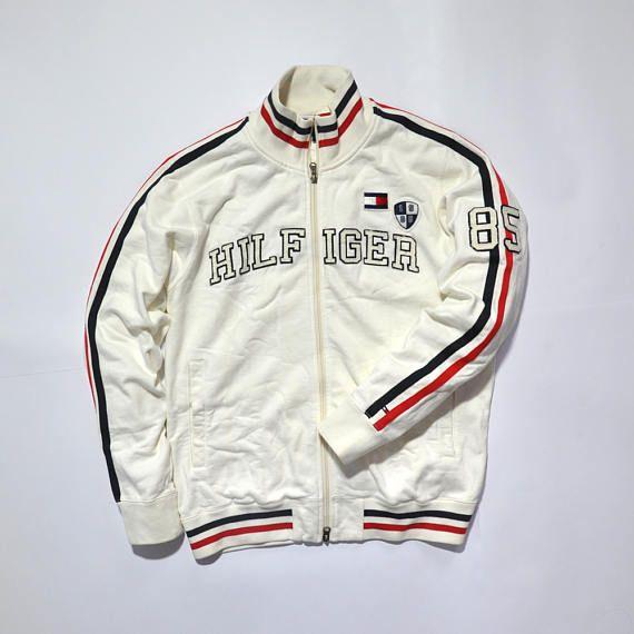 7b76953cc Vintage Tommy Hilfiger Track Top 85 NYC / Outdoor Jacket / Hip Hop ...
