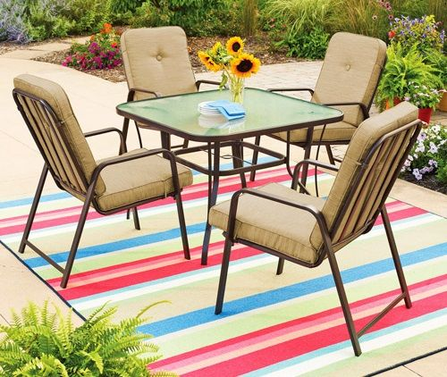 Mainstays Patio Furniture Cushions Mainstays Lawson Ridge