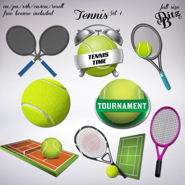 Tennis Set 1 Tennis Set Tennis Sport Icon