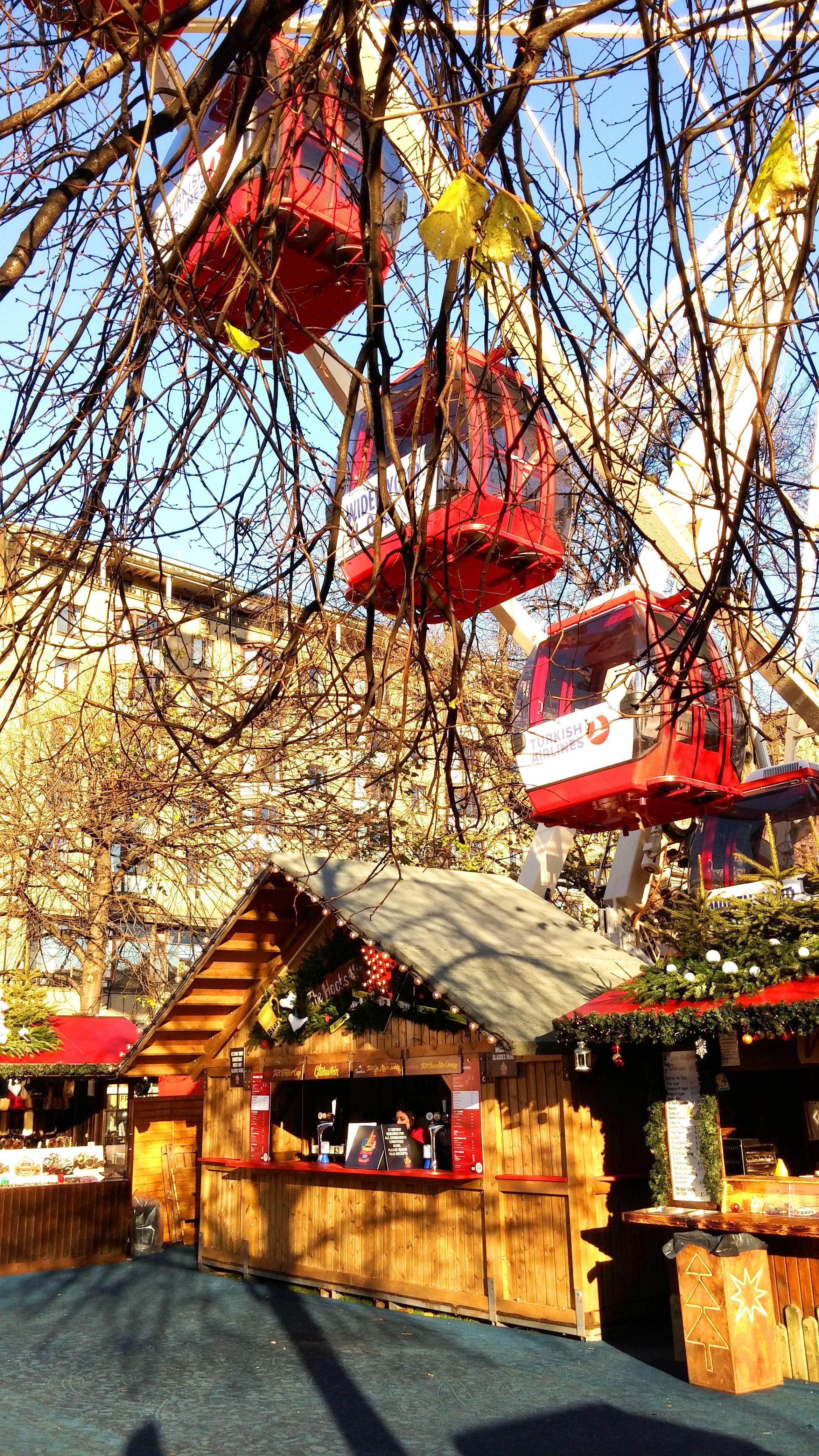 Christmas Market at East Princes Street Gardens House